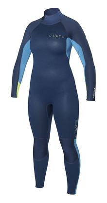 Picture of C-Skins SURFLITE 5x4 Back Zip Womens Suit 2018