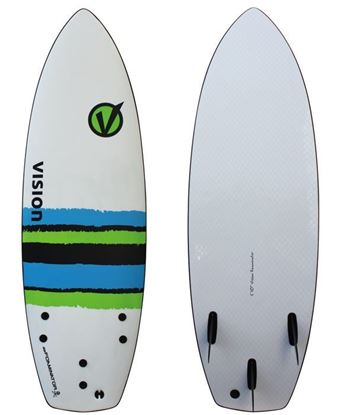Picture of Vision Foaminator Thruster 5'10""