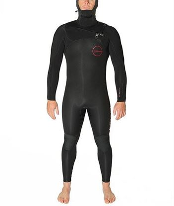 Picture of C-Skins RE-WIRED HOODED 5x4 Chest Zip Mens Suit 2018