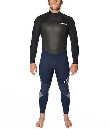 Picture of C-Skins SURFLITE 5x4 Back Zip Mens Suit 2018