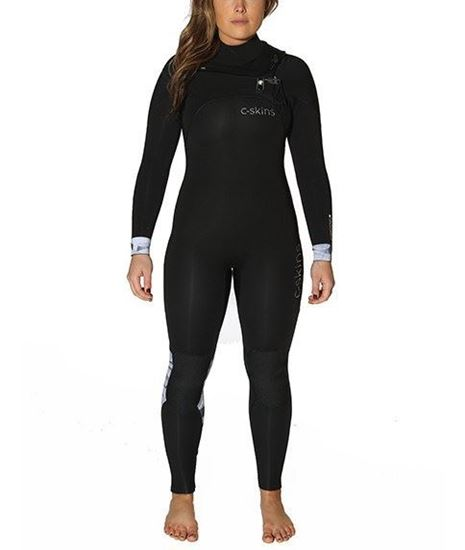 Picture of C-Skins RE-WIRED 5x4 Chest Zip Womens Suit 2018