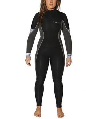 Picture of C-Skins SOLACE 5x4 Back Zip Womens Suit 2018