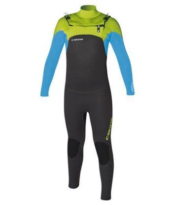 Picture of C-Skins LEGEND 5x4 Chest Zip Kids Suit 2018