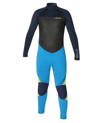Picture of C-Skins SURFLITE 5x4 Back Zip Kids suit 2018