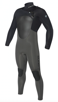 Picture of C-Skins WIRED 5x4 Chest Zip Mens Suit 2017