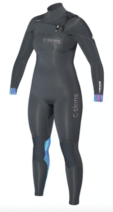 Picture of C-Skins RE-WIRED 3x2 Chest Zip Womens Suit 2017